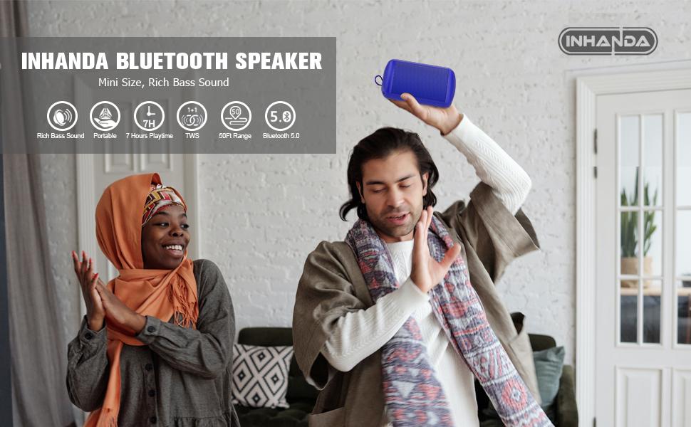 INHANDA F1 portable bluetooth speaker