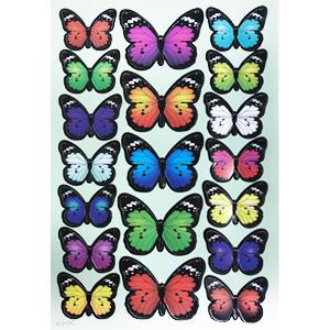 butterfly sticker-C