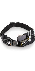 running belt black adjustable water resistant