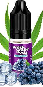 100 mg Fresh Grape Soda