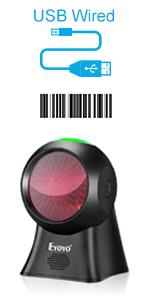 7100 desktop barcode scanner