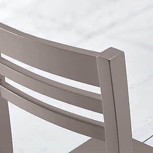 Sedia Sedile Ecopelle Similpelle Ecopelle Legno Cucina Sala Pranzo Design Moderna Albergo Ristorante