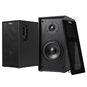 Frisby Audio bookshelf speakers with bluetooth streaming from devices
