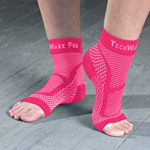 ankle compression brace