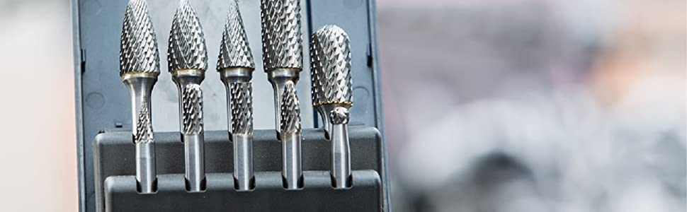 metal grinder drill bit, deburring, burrs for wood, wood bits, tungsten bits, carbide burr, aluminum