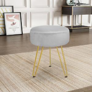 footstool velvet