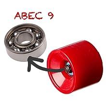 skateboard bearings, skateboard wheels, longboard bearings, bearings abec 9, skate bearings, wheels