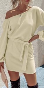 Off The Shoulder Lightweight Dress