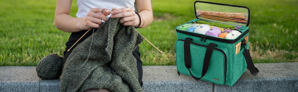 fil de laine Stockage