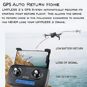 Drone GPS Auto Return Home