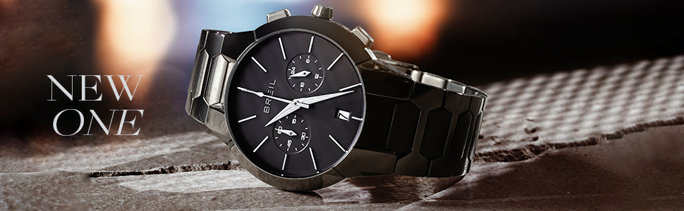 breil;orologio uomo;orologio donna;new one;chrono;acciaio;cronografo;green;gun;automatico;sport