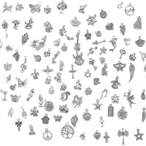 Mixed wholesale metal charms