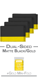 dual black and gold