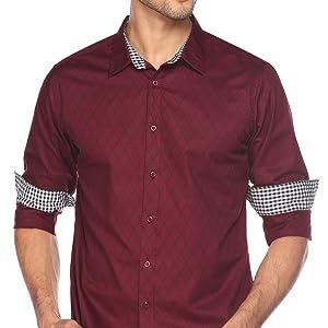 Mens Shirt slim fit dress shirt