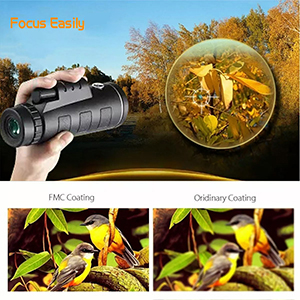 40X60 High Power High Definition with Smartphone Holder and Tripod