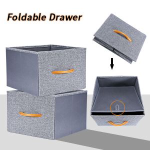 foldable drawers