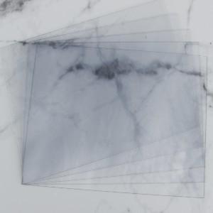 3 pi/èces 1mm /épaisseur Plaques PC incolores et r/ésistantes /à la rupture de tailles et de quantit/és diff/érentes A3 42x30cm avec un film protecteur sur les deux faces polycarbonate