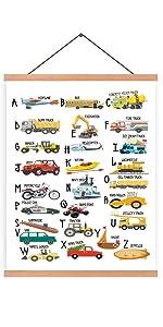 vehicle hanging poster