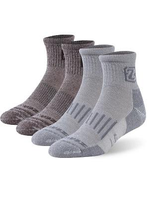 Merino Wool Socks ZEALWOOD Unisex Hiking Trekking Crew Socks Thermal Warm Winter Socks,1//2//3//4 Pairs