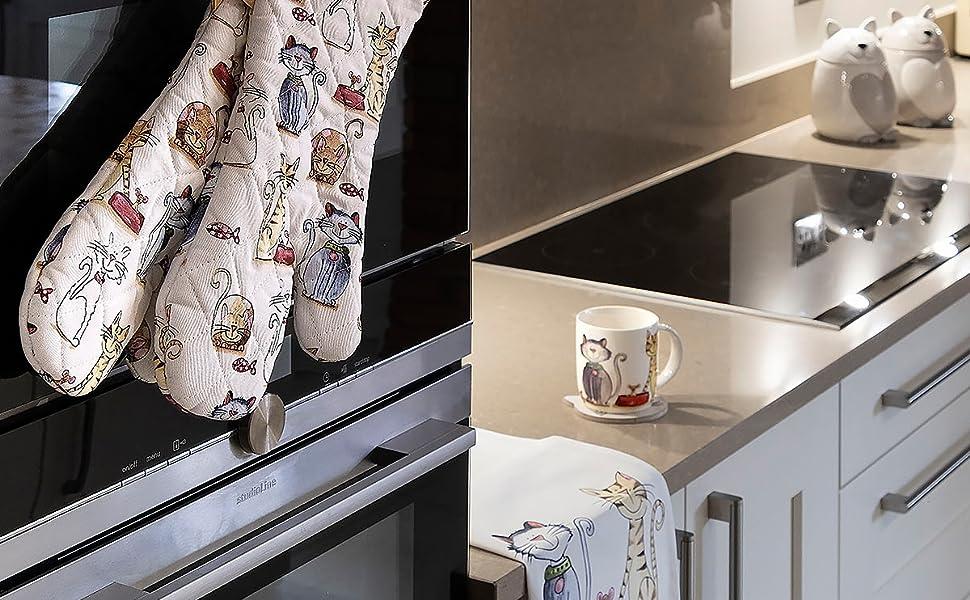 SPOTTED DOG GIFT COMPANY Paños de Cocina, 100% Algodon 50 x 70 cm ...