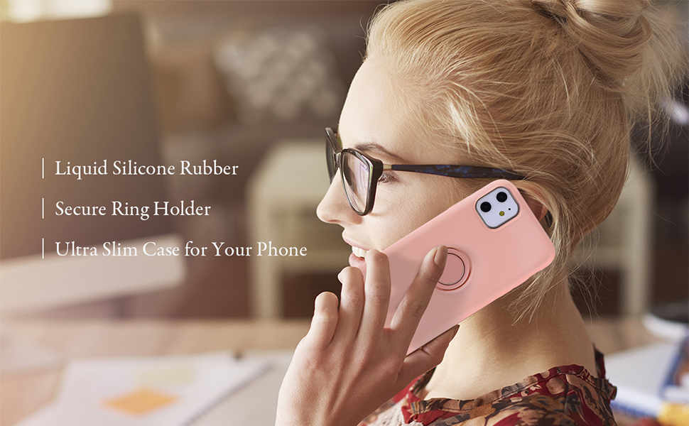 Slim Liquid Silicone Phone Case