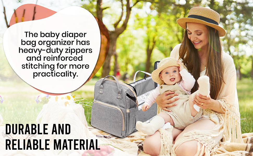 durable and reliable diaper bag for baby