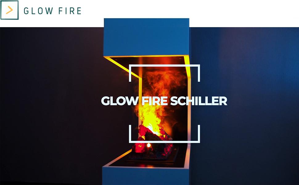 Glow Fire Schiller, Schiller, Elektrokamin Schiller, Elektro Kamin Schiller