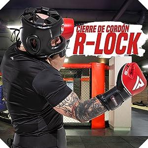 RDX Cascos Boxeo Maya Cuero MMA Sparring Kickboxing Casco Protector Entrenamiento Lucha: Amazon.es: Deportes y aire libre