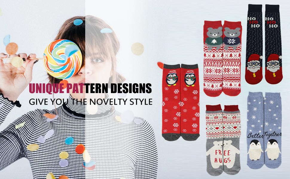 Fun Crazy Cool Colorful Comfortable Cozy High Long Casual Socks 3-Pack Ben Sherman Men/'s Novelty Crew Dress Socks