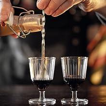 Newdora Cocteleras para Cocteles y Accesorios Profesional, Juego de Cockteleras de Calidad Acero Inoxidable, 15 PCS Hacer Cócteles, 750 ml Cocktail ...