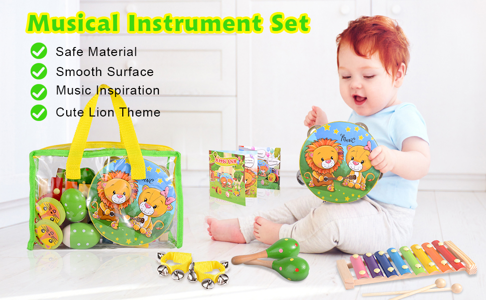 WOODEN MUSICAL TOYS