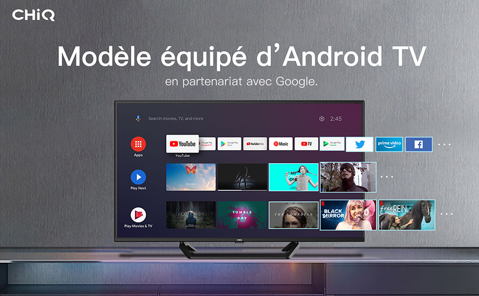 42 pouces FHD android smart tv