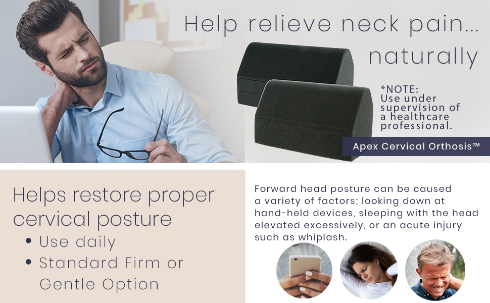 Help relieve neck pain naturally