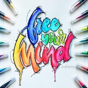 aquarell woohhoo4u pinselstifte