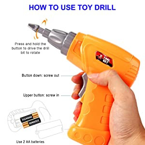 Kids Toy Drill
