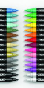 30 Medium Tip Acrylic Paint Pens