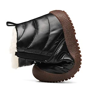 kids winter snow ankle boots warm shoes