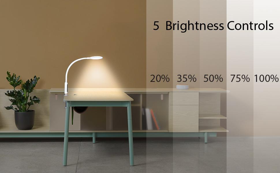 5 brightness Level