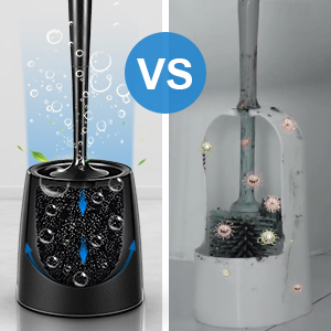 Easy To Clean Toilet brush and holder