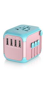 pink plug adapter