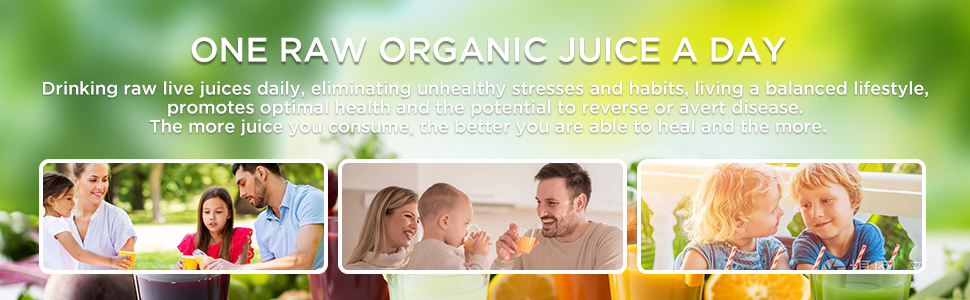 Cold press juicer in your daily life