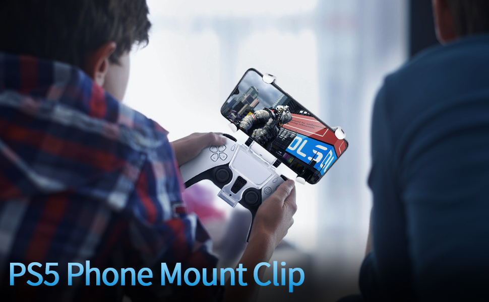 controller phone clamp