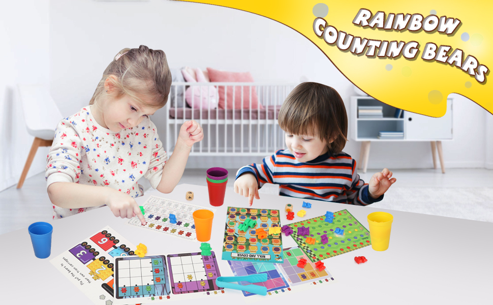counting bears for toddlers