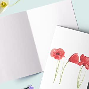 blank cards with envelopes all occasion greeting boxed set floral watercolor envelopes simple inside