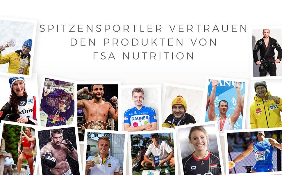 FSA Nutrition Profisport Nahrungsergänzungsmittel Made in Germany Athleten
