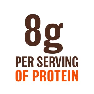 8g of per serving of protein