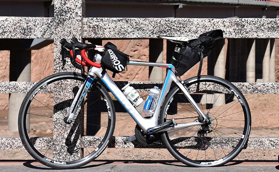 ROCKBROS Bolsa para Sillín de Bicicleta Alforjas Impermeable de Asiento 10L para Ciclismo MTB Carretera Negro: Amazon.es: Deportes y aire libre