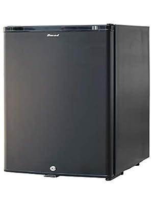 silenzioso Mini frigorifero con serratura A++ mini frigorifero scomparto per il gelo e sbrinamento automatico illuminazione interna a LED 43 litri ripiano per le uova