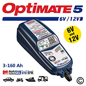 Optimate 5 6v And 12v Voltmatic Batterie Ladegerät Und Contioner Auto
