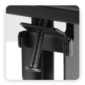 tv stand with safety screws